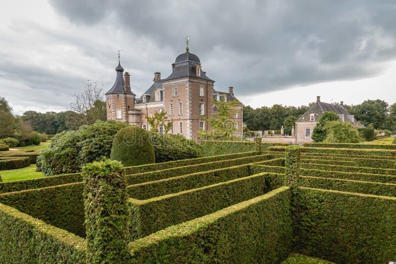 Castle and Estate Weldam in Hof van Twente Holland stock image