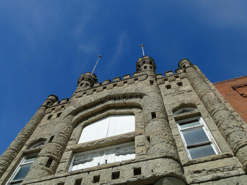 Castle Facade royalty free stock photography