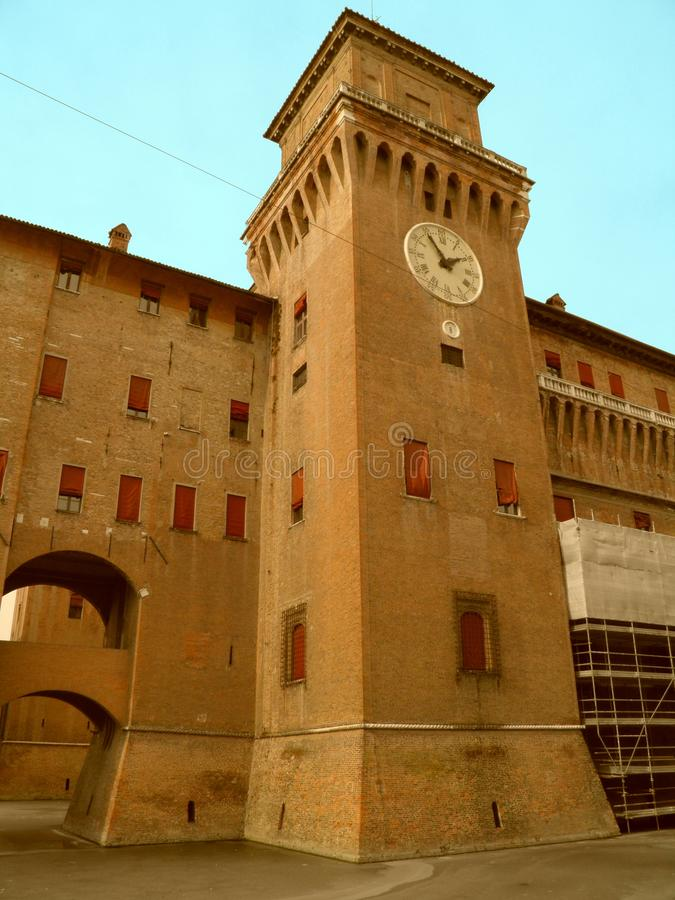 Download The Castle Of Ferrara Royalty Free Stock Photos - Image: 23583678