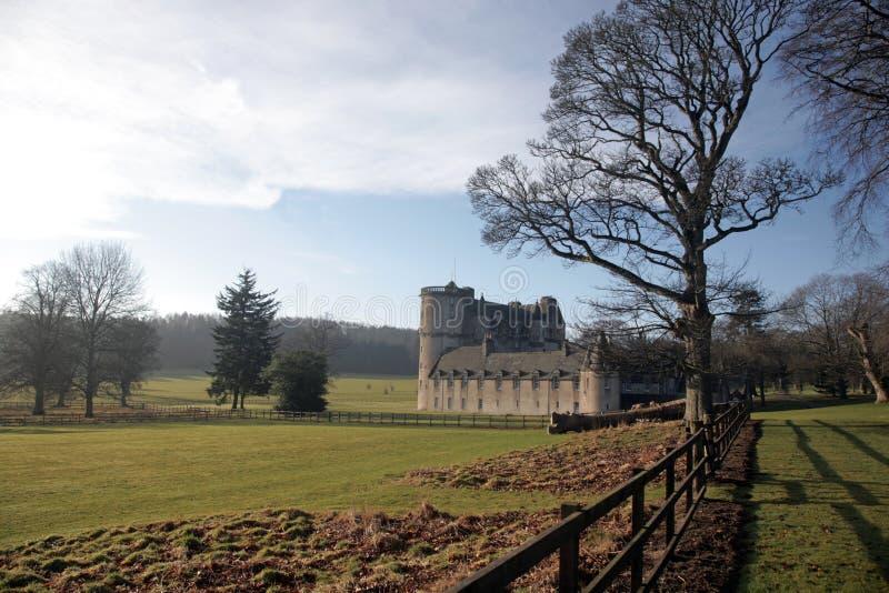 Castle Fraser. West of Aberdeen, Scotland stock photography