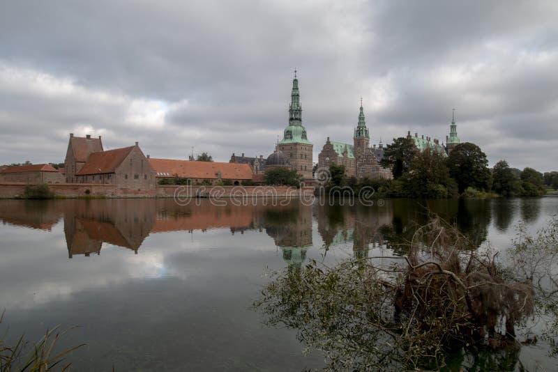 Castle of Friederiksborg stock image