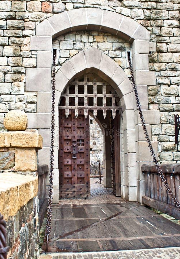 Castle front door & Castle front door stock photo. Image of december details - 17701700