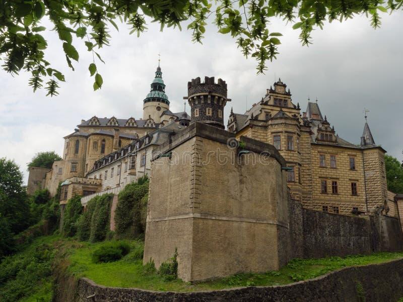 Castle Frydlant. In Czech Republic stock images