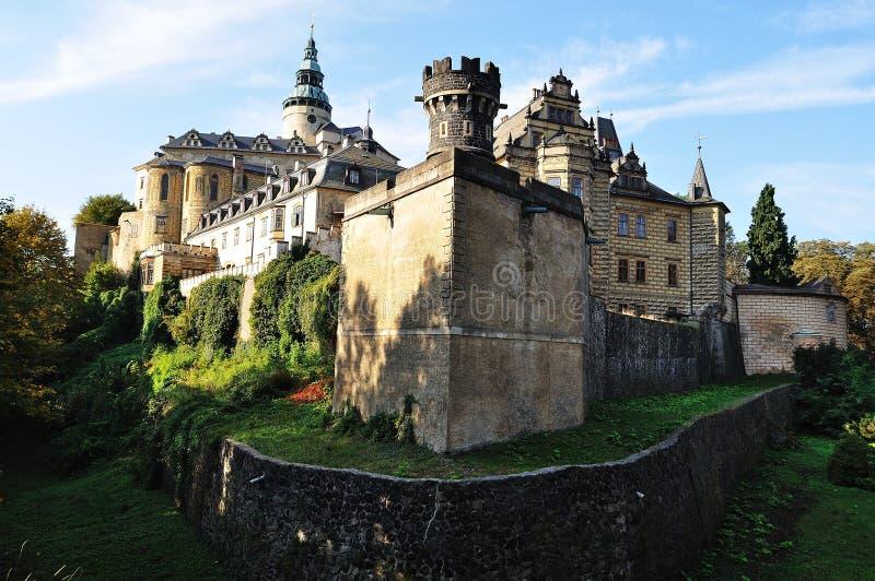 Castle Frydlant. Czech republic. On the photo: Castle Frydlant. Czech republic royalty free stock photo