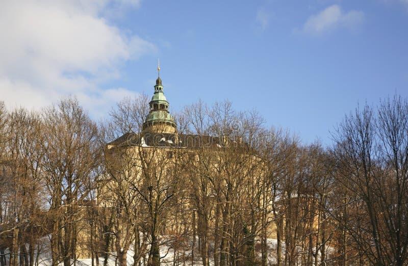 Castle in Frydlant v Cechach. Czech Republic.  royalty free stock photos