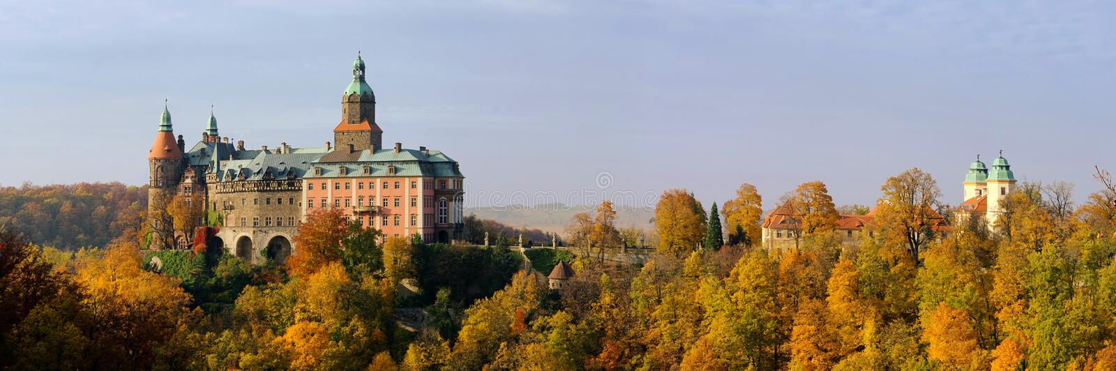 Castle Fuerstenstein royalty free stock images