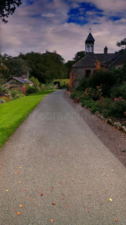 In the Castle Garden royalty free stock images