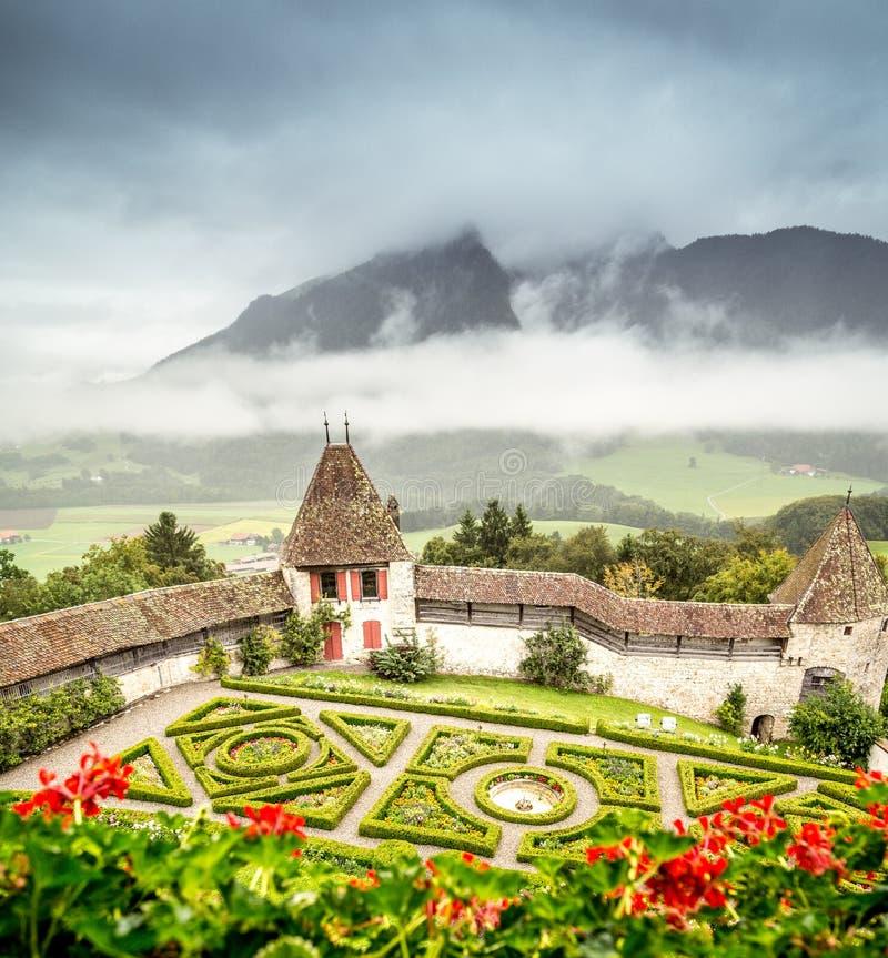 Castle Gardens stock image