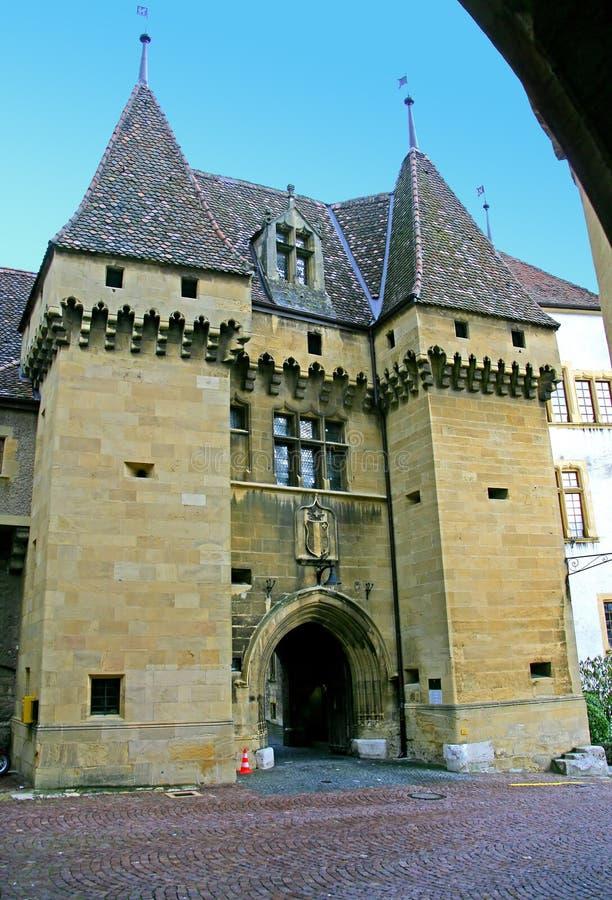 Castle Gate 2 stock photo
