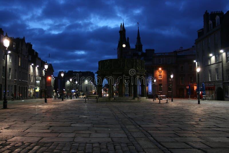 Castle Gate, Aberdeen stock image