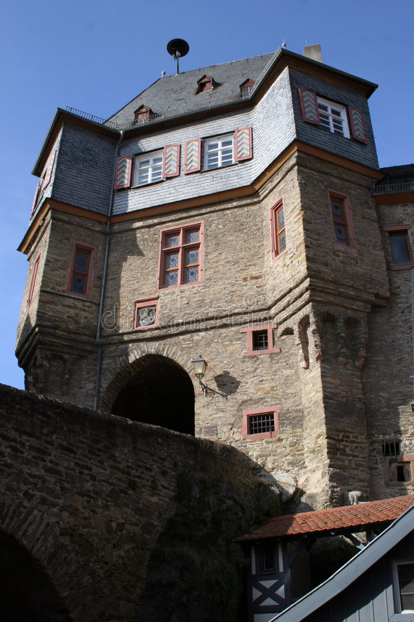 Castle Gate In Idstein royalty free stock photos
