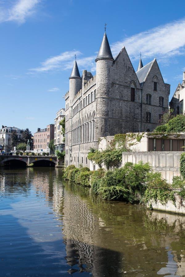 Castle In Gent, Belgium Stock Image