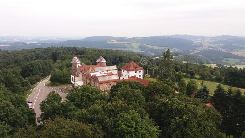 A castle in Germany royalty free stock photos