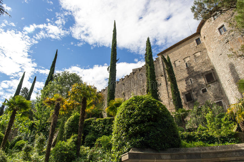 Download The Castle Of Girona Stock Photos - Image: 32025523