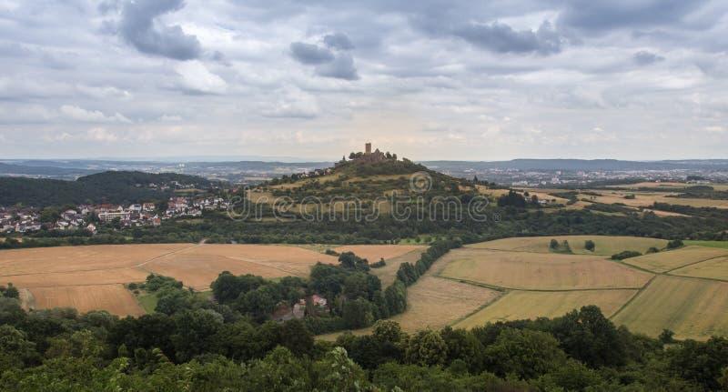 Castle gleiberg Hesse Γερμανία στοκ φωτογραφίες
