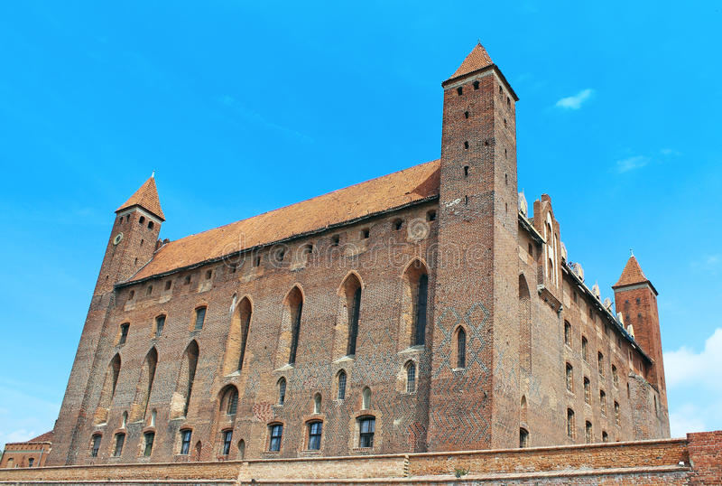 Download Castle in Gniew. stock image. Image of poland, european - 31565267