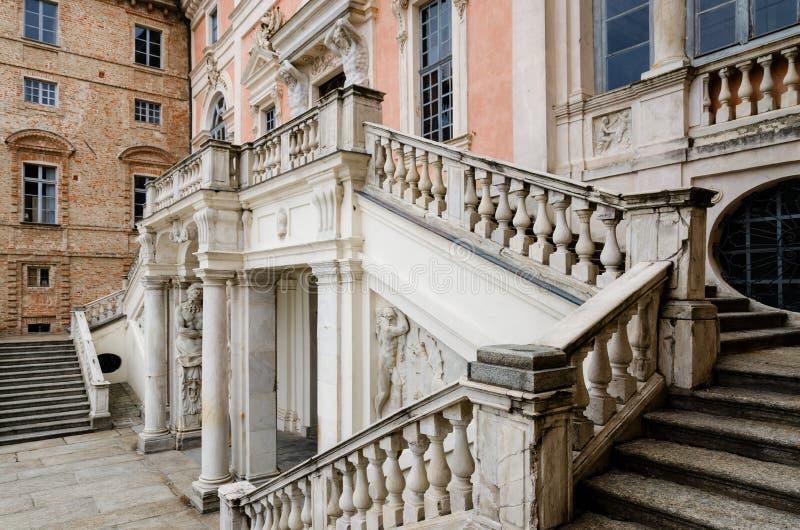 Castle Govone Ιταλία στοκ φωτογραφία με δικαίωμα ελεύθερης χρήσης