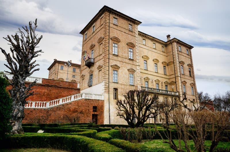 Castle Govone Ιταλία στοκ εικόνες