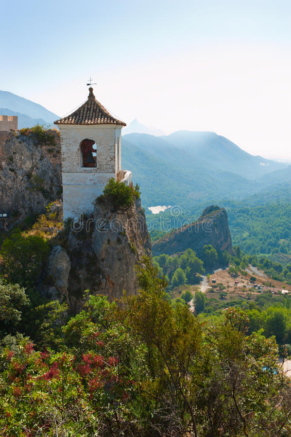 Download Castle In Guadalest Village, Alicante, Spain Stock Photography - Image: 26829052