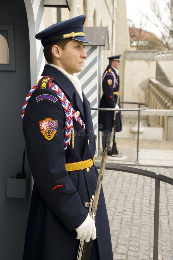 Castle Guards stock photos