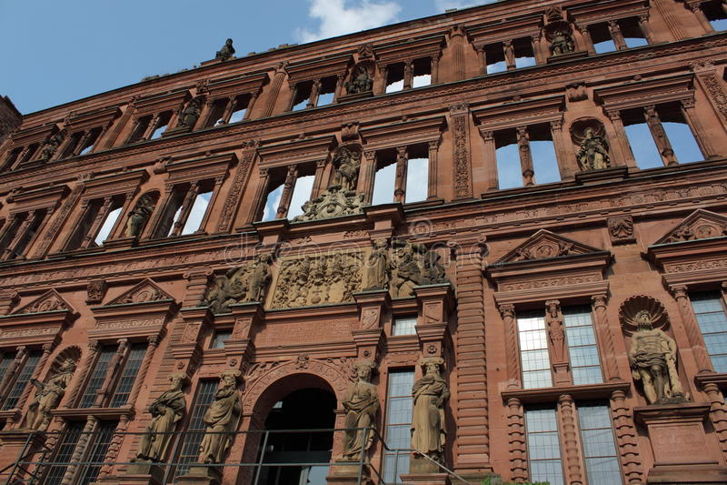 Castle In Heidelberg Stock Images