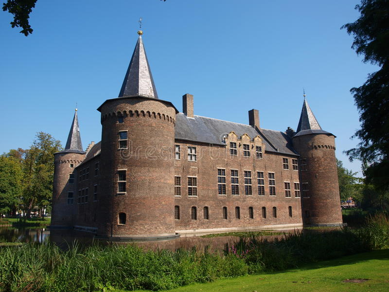Castle, Helmond, Netherlands. The castle in Helmond, Netherlands. The museum of the North Brabant region royalty free stock image