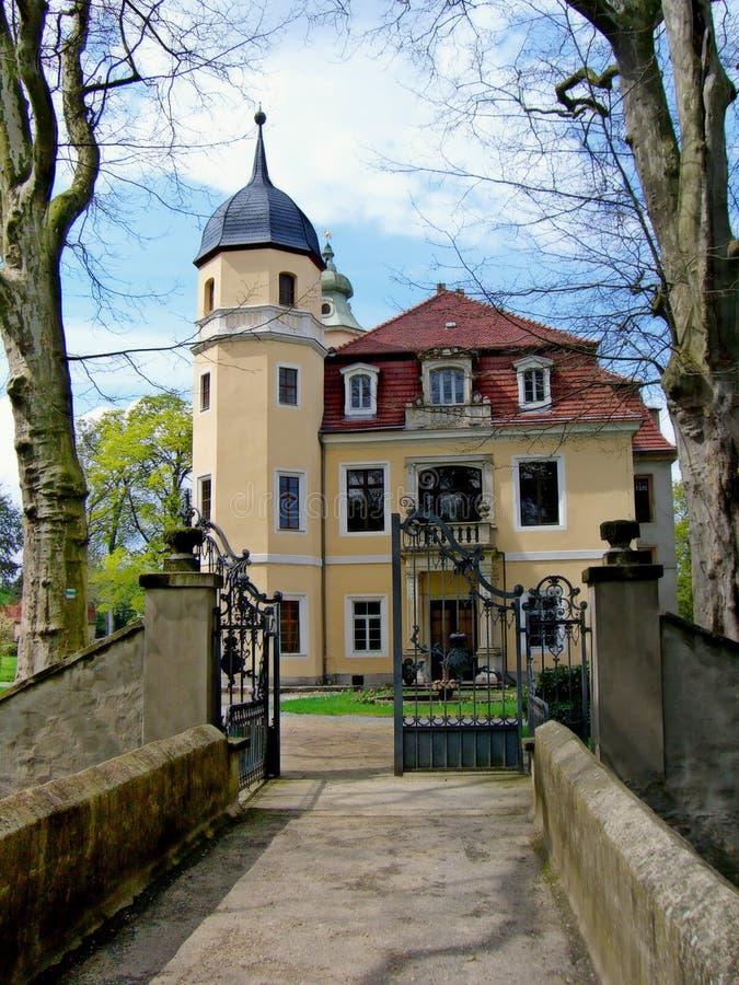 Castle of Hermsdorf stock photos