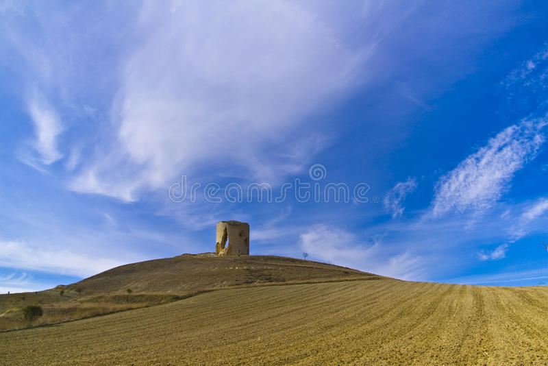 Download Castle hill stock image. Image of medieval, agriculture - 12000739
