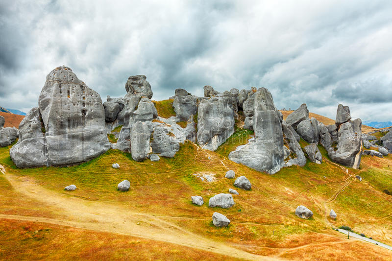 Download The Castle Hill stock image. Image of amazing, arthurs - 26028091