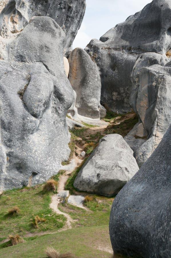 Castle Hill, Arthur Pass, Nova Zelândia imagem de stock