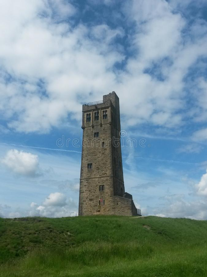 Castle Hill Huddersfield royalty free stock photos