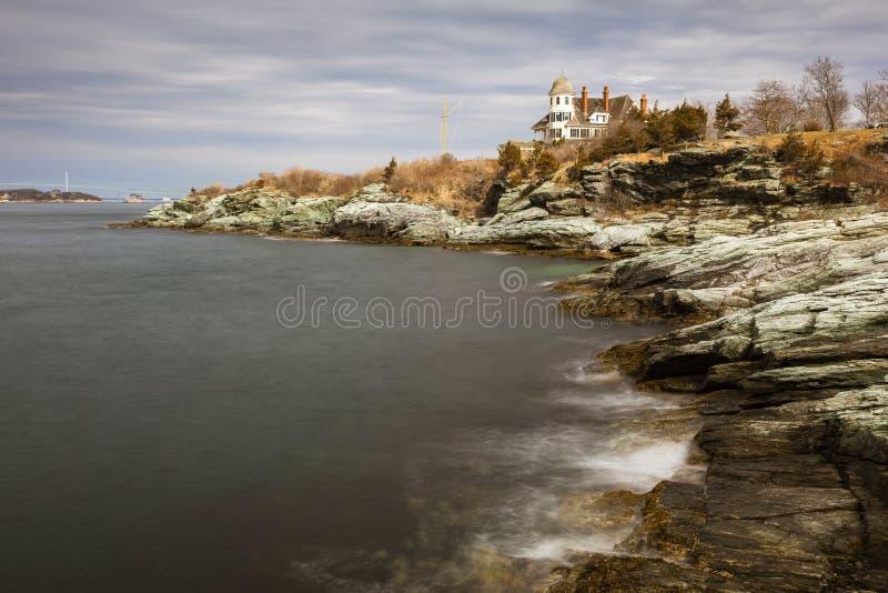 Castle Hill Inn, Newport Rhode Island stock photo
