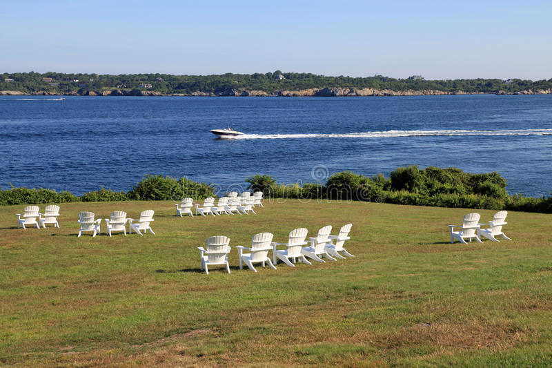 Castle Hill, Newport, Rhode Island royalty free stock images