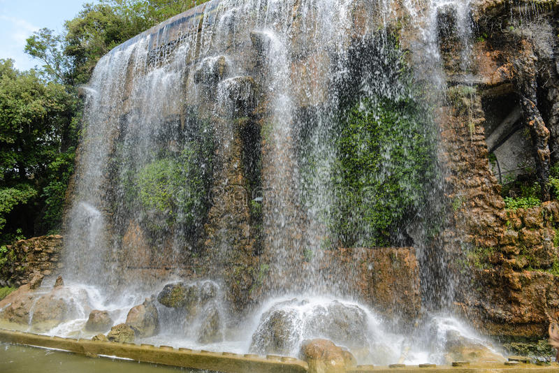 Castle Hill Waterfall Royalty Free Stock Image