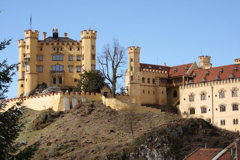 Castle Hohenschwangau in bavaria royalty free stock image