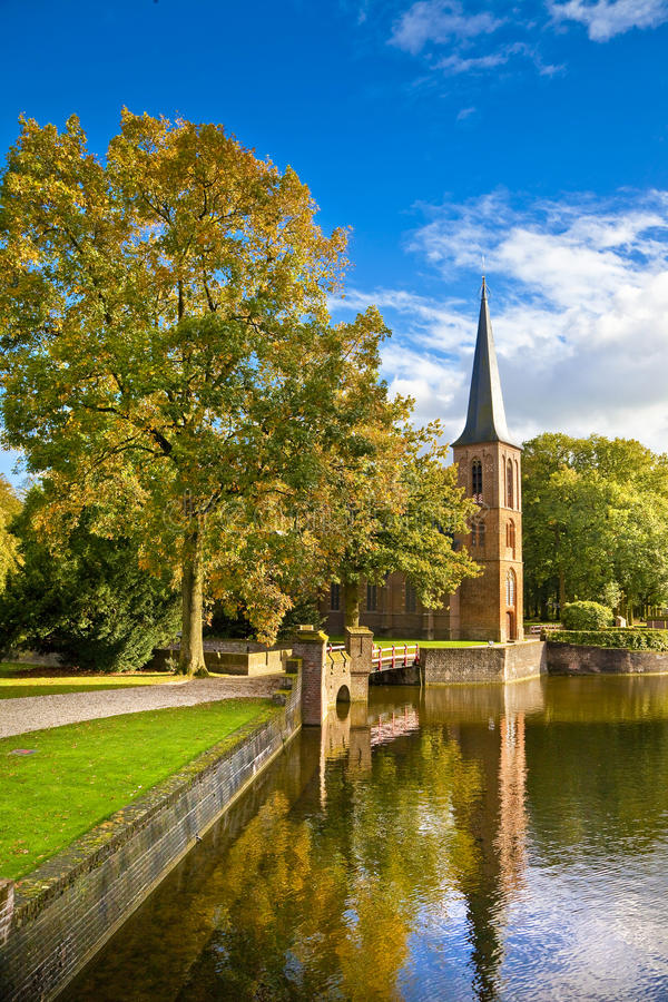 Download Castle in Holland stock photo. Image of museum, fortified - 21599344