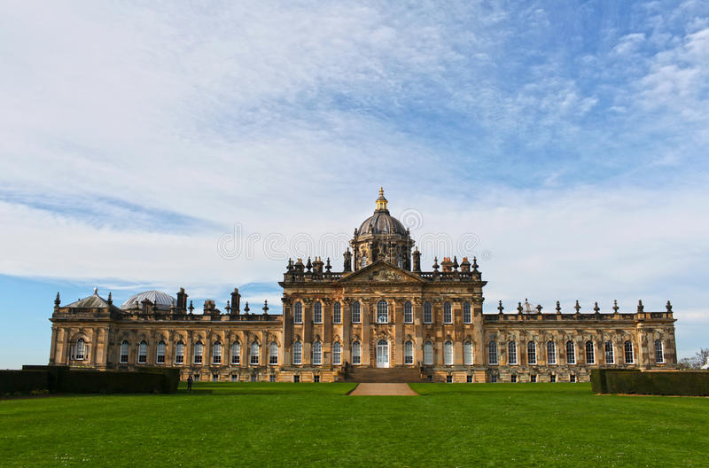 Castle Howard. Is a stately home in North Yorkshire, England, 15 miles (24 km) north of York. Part of the Howard family for more than 300 years. It is familiar royalty free stock images