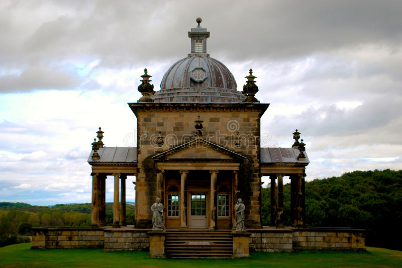 Castle Howard. Is a stately home in North Yorkshire, England north of York. One of the grandest private residences in Britain, most of it was built between 1699 stock photos