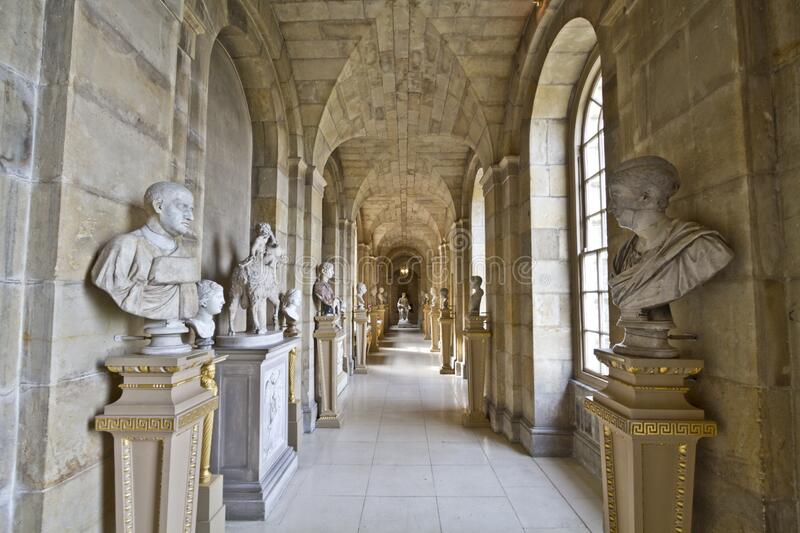 Castle Howard Antique Passage Free Public Domain Cc0 Image