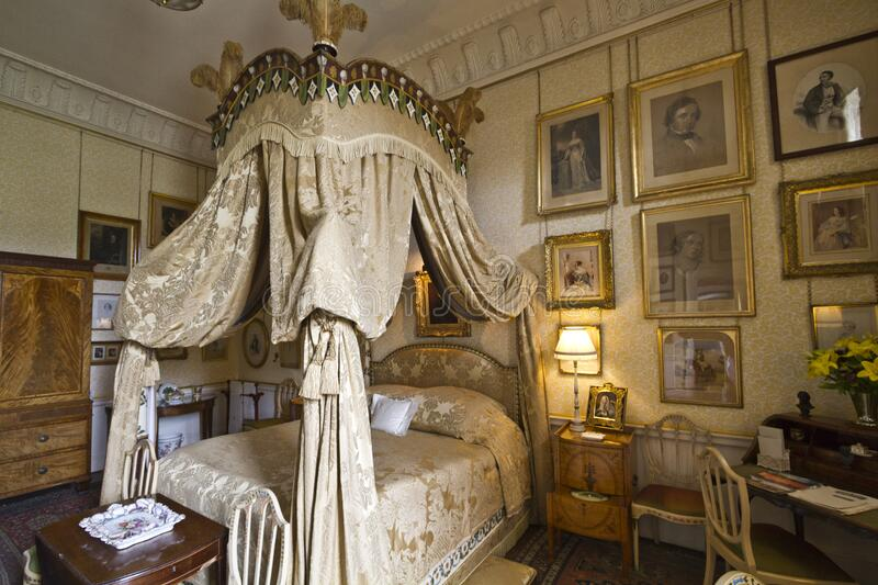 Castle Howard Lady Georgianas' Bedroom royalty free stock images