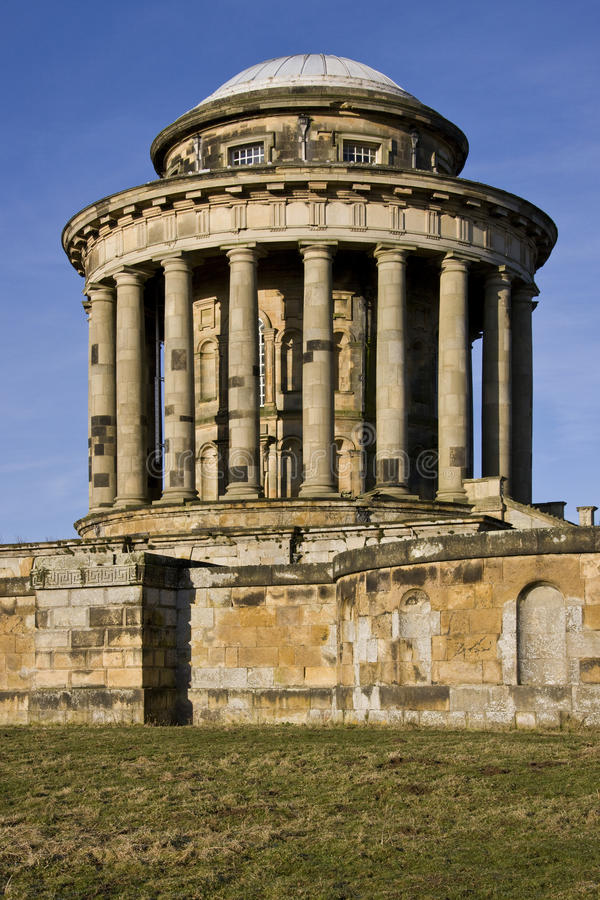 Castle Howard Mausoleum - England. Castle Howard is a stately home in North Yorkshire, England, 15 miles (24 km) north of York. One of the grandest private royalty free stock photography