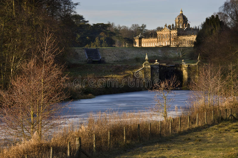 Castle Howard - North Yorkshire - England. Castle Howard is a stately home in North Yorkshire, England, 15 miles (24 km) north of York. One of the grandest royalty free stock photography