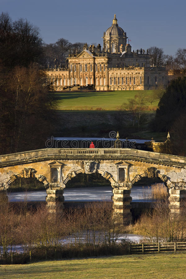 Castle Howard in North Yorkshire - England stock images