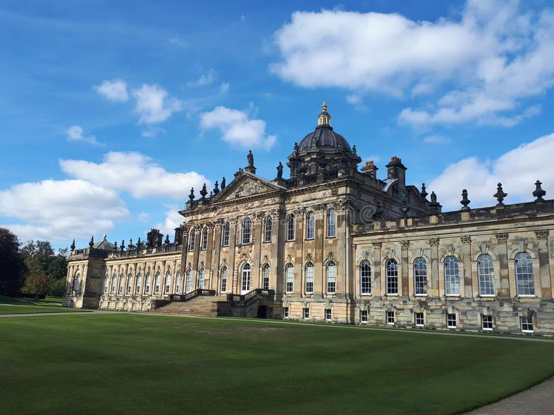 Castle Howard in North Yorkshire. England United Kingdom royalty free stock images
