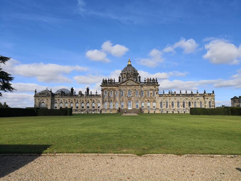 Castle Howard in North Yorkshire. England United Kingdom royalty free stock photo