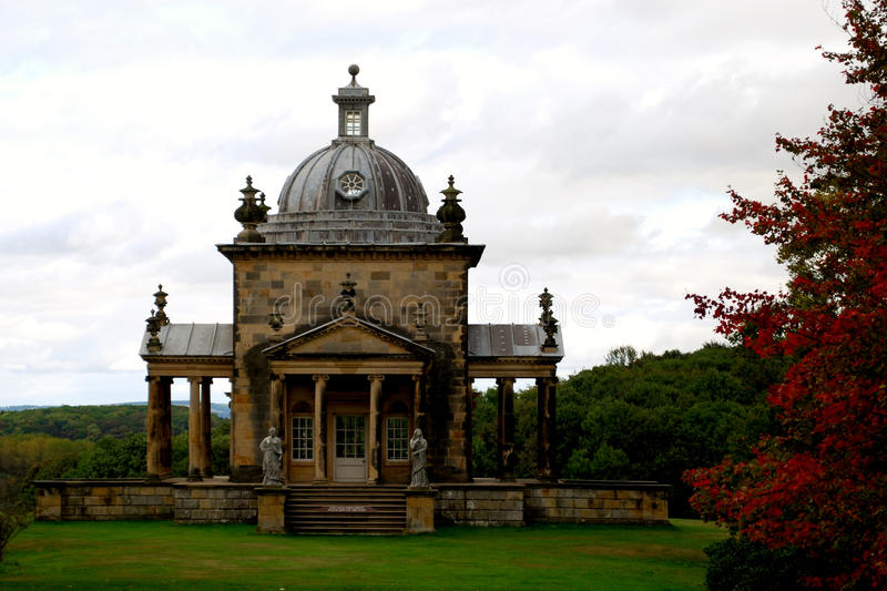 Castle Howard. Is a stately home in North Yorkshire, England north of York. One of the grandest private residences in Britain, most of it was built between 1699 stock images