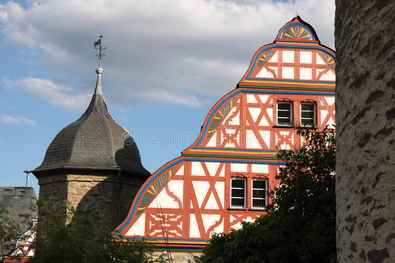 Castle of Idstein royalty free stock images