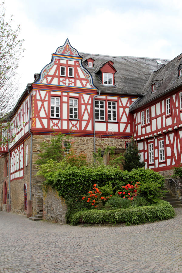 Castle of Idstein, Germany. stock images