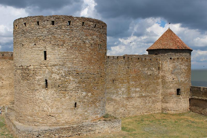 Castle, impregnable φρούριο στοκ εικόνες