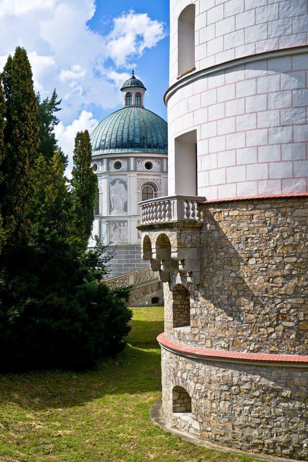 Free Castle In Krasiczyn Royalty Free Stock Image - 25429416